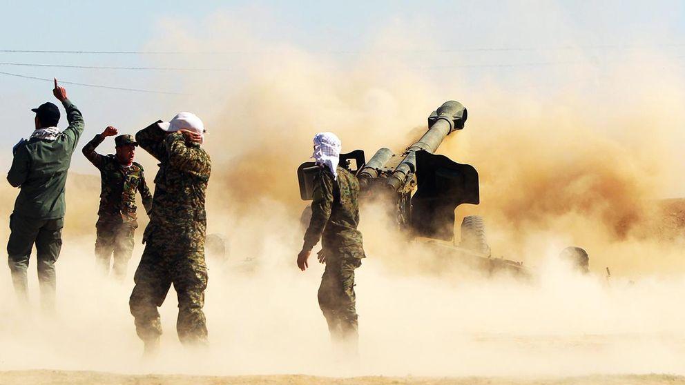 Irakisk militar atertar stad