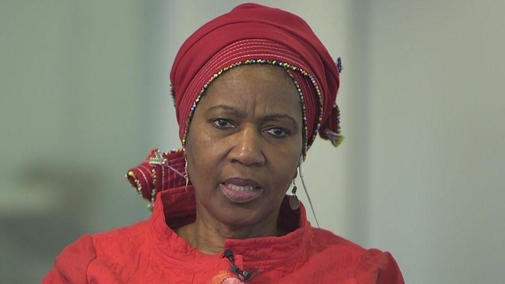 Phumzile-Mlabo-Nguka, chef för FN:s jämställdhetsorgan