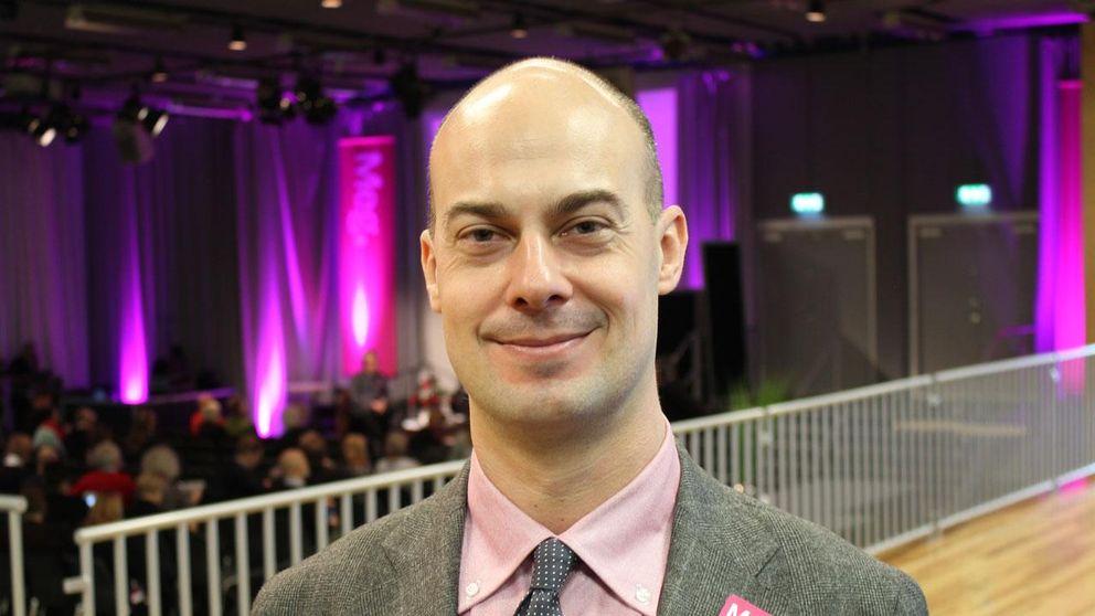 Per Strömbäck, talesperson för svenska dataspelsbranschen.