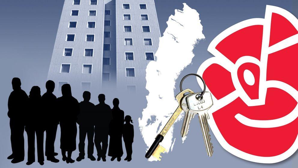 SVT:s enkätundersökning visar också att 88 procent av kommunalråden vill använda lagstiftning för att tvinga alla kommuner att ta emot flyktingar.