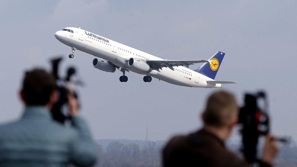 Lufthansa lyfter