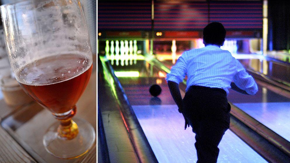 Bowling och öl