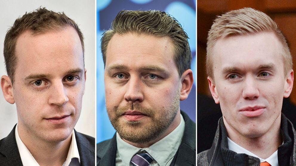 Både Gustav Kasselstrand och William Hahne ska enligt uppgift nu kickas ur partiet av Mattias Karlsson.