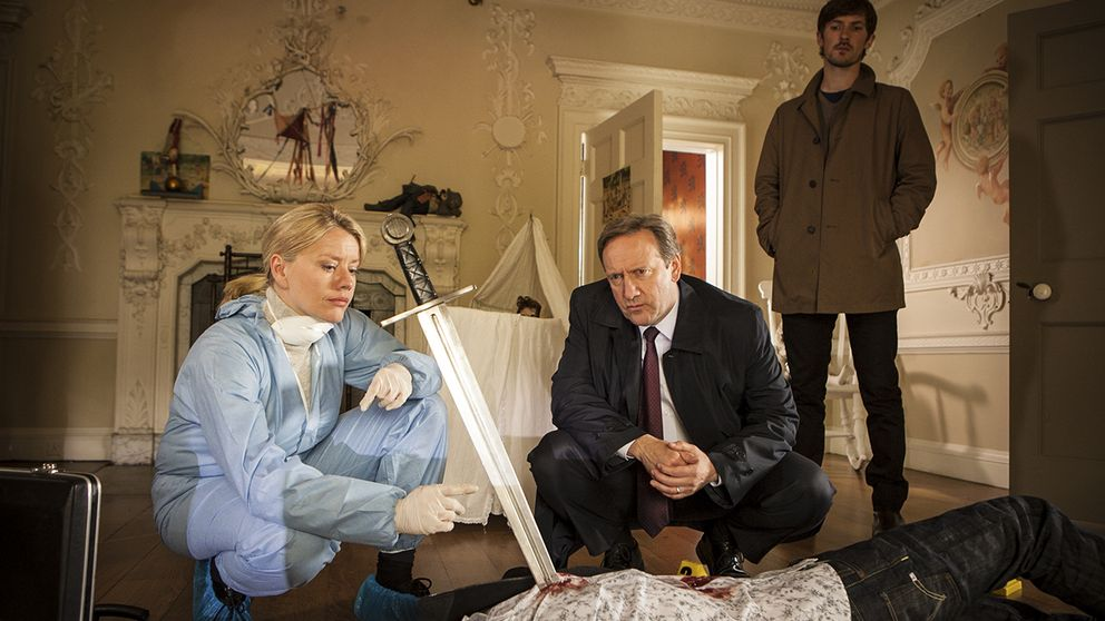 Kate Wilding (Tamzin Malleson), John Barnaby (Neil Dudgeon) Charlie Nelson (Gwilym Lee).