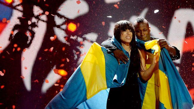 """Seger i Baku för Sverige och Loreen! Låten hette, om någon missat det, """"Euphoria"""" och året var 2012."""