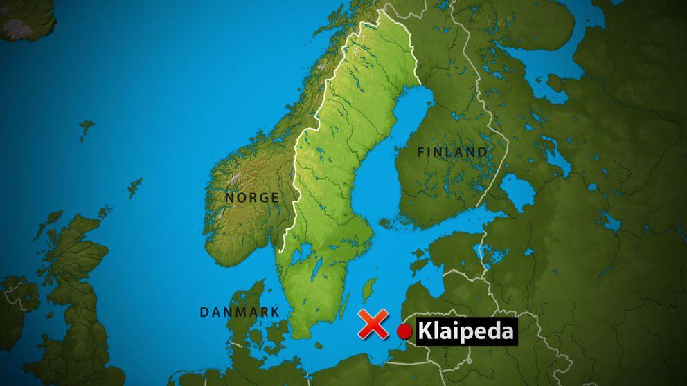 Flygplanet försvann någonstans mellan Öland och litauiska Klaipeda.