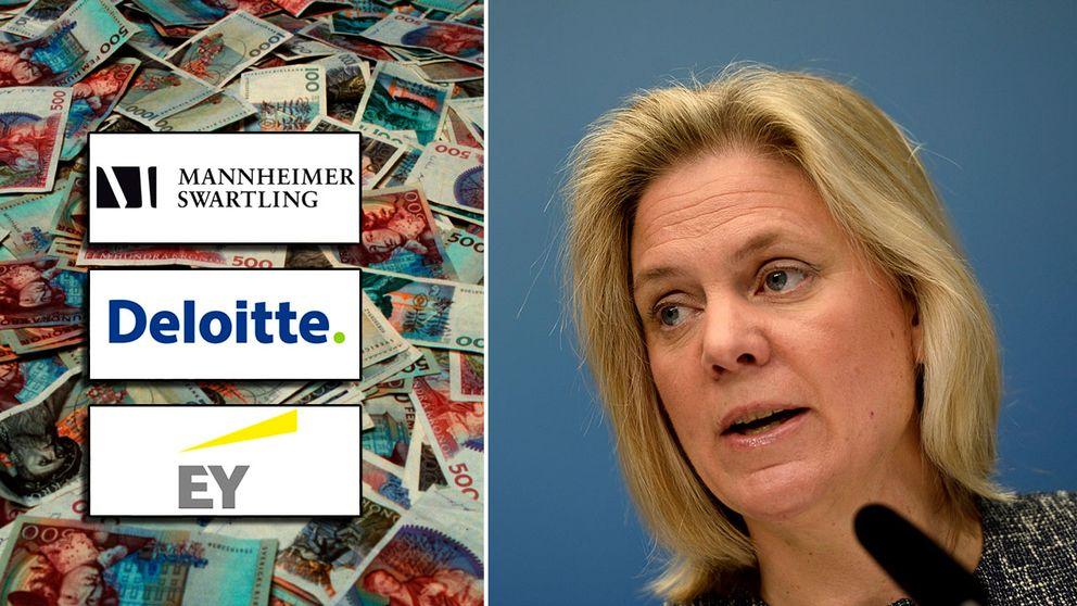 Byråerna Mannheimer Swartling, Deloitte och EY har skapat nya upplägg för att gå runt de nya reglerna och försöka hålla skatten nere.