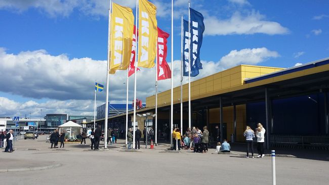 Ikea fick utrymmas efter larm SVT Nyheter