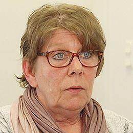 Stina Andersson, enhetschef vid Migrationsverket i Halland. Arena hotell. Asylboende.