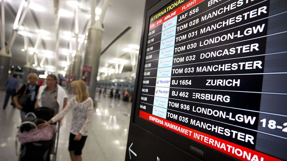 300 svenska turister pa plats i tunisien