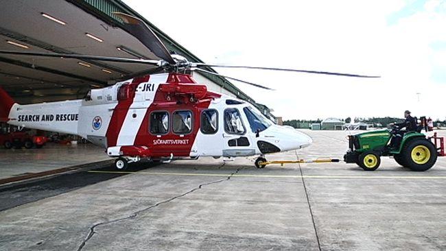 Forsvaret och sjofartsverket i helikoptersamarbete