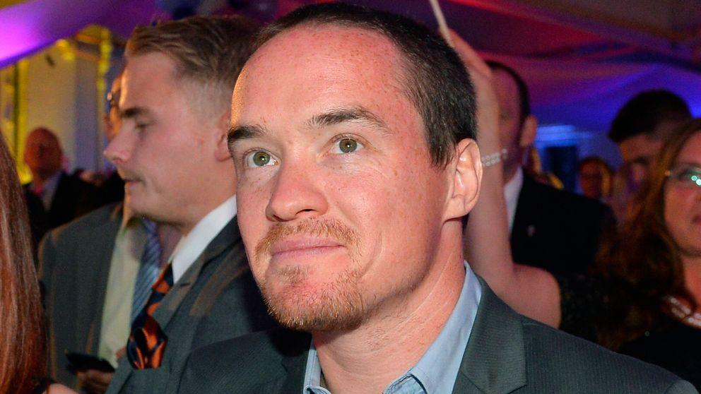 Kent Ekeroth på Sverigedemokraternas valvaka 2014.