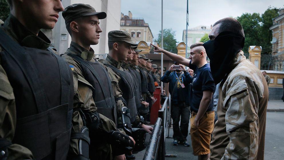 Sakerhetsvakuum i vastra ukraina