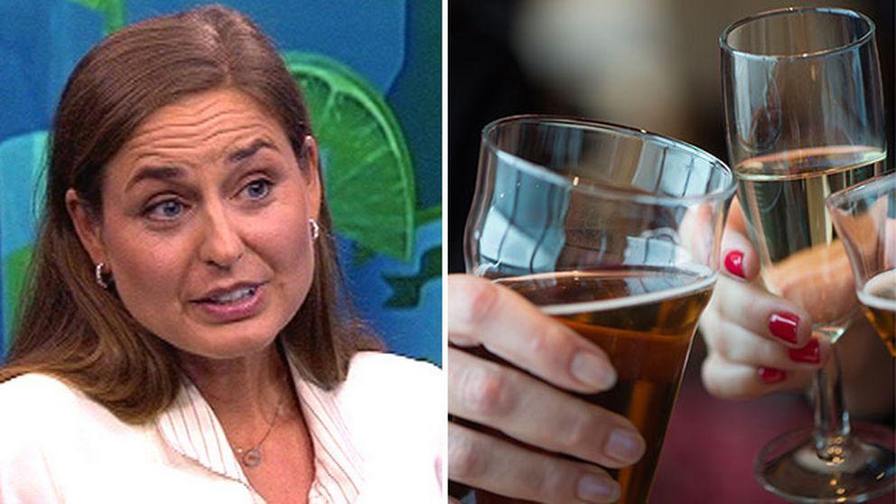 Johanna Gripenberg forskar om alkoholvanor och varnar för de risker som ökad tillgänglighet innebär.