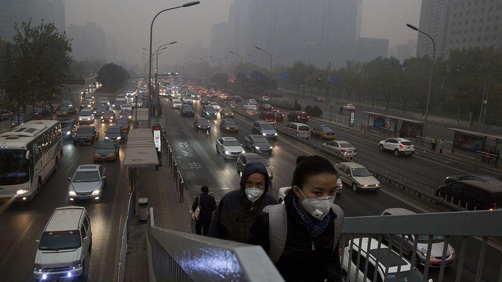 luftföroreningar kina