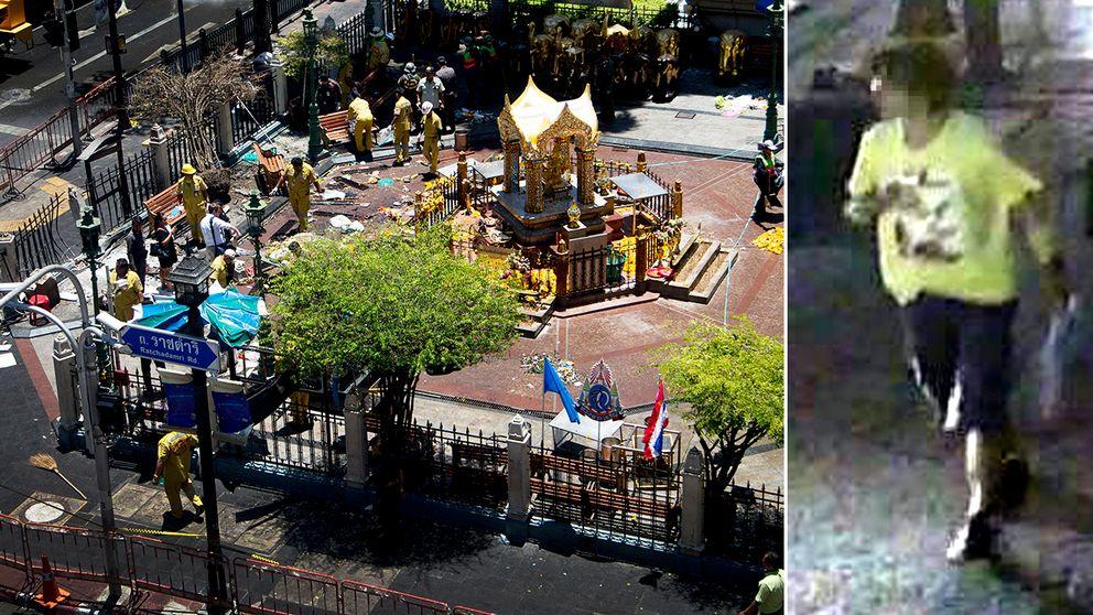 Misstankt for dadet i bangkok flydde