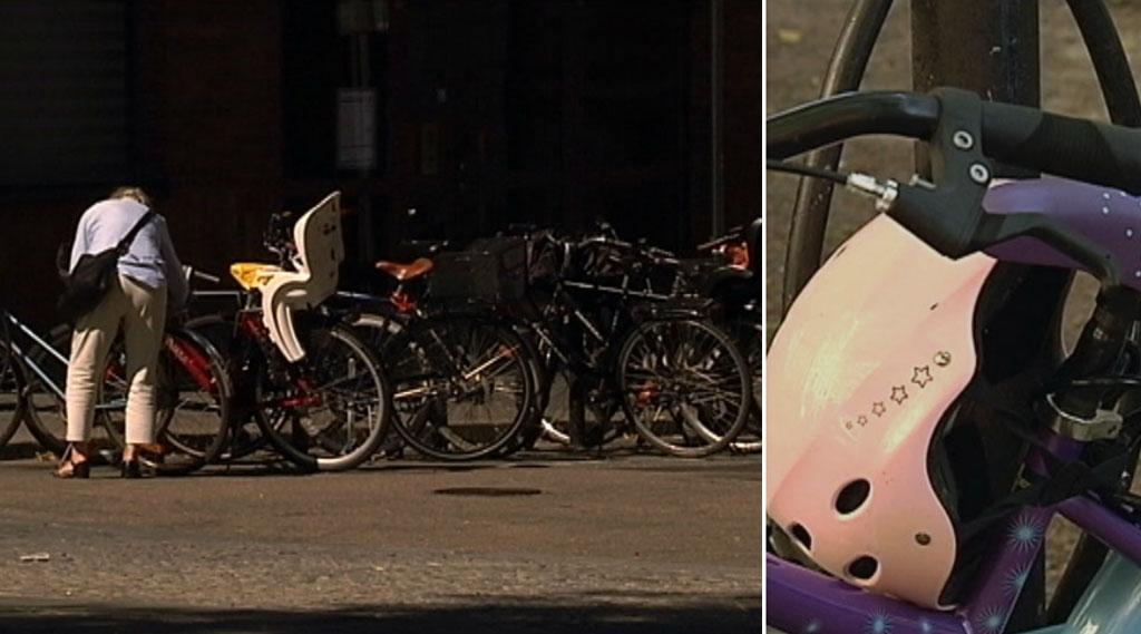Manga barn skadas i cykelolyckor varje ar
