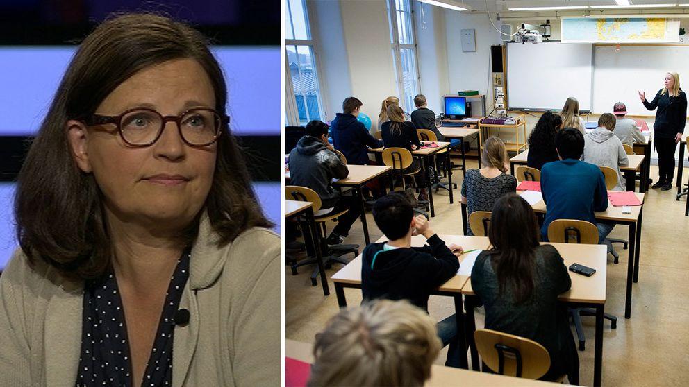 Skolverkets generaldirektör Anna Ekström.