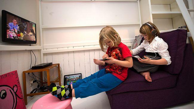 Studie Dåligt för barn att sitta stilla länge SVT Nyheter