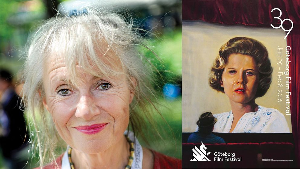 Konstnären Karin Broos filmaffisch för nästa års GIFF.