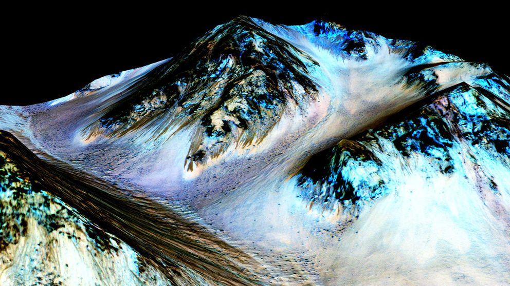 Dalarna på Mars tror forskarna har formats av vatten – en förutsättning för liv på planeten.