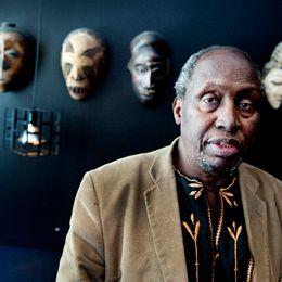 Den kenyanske författaren Ngũgĩ wa Thiong'o