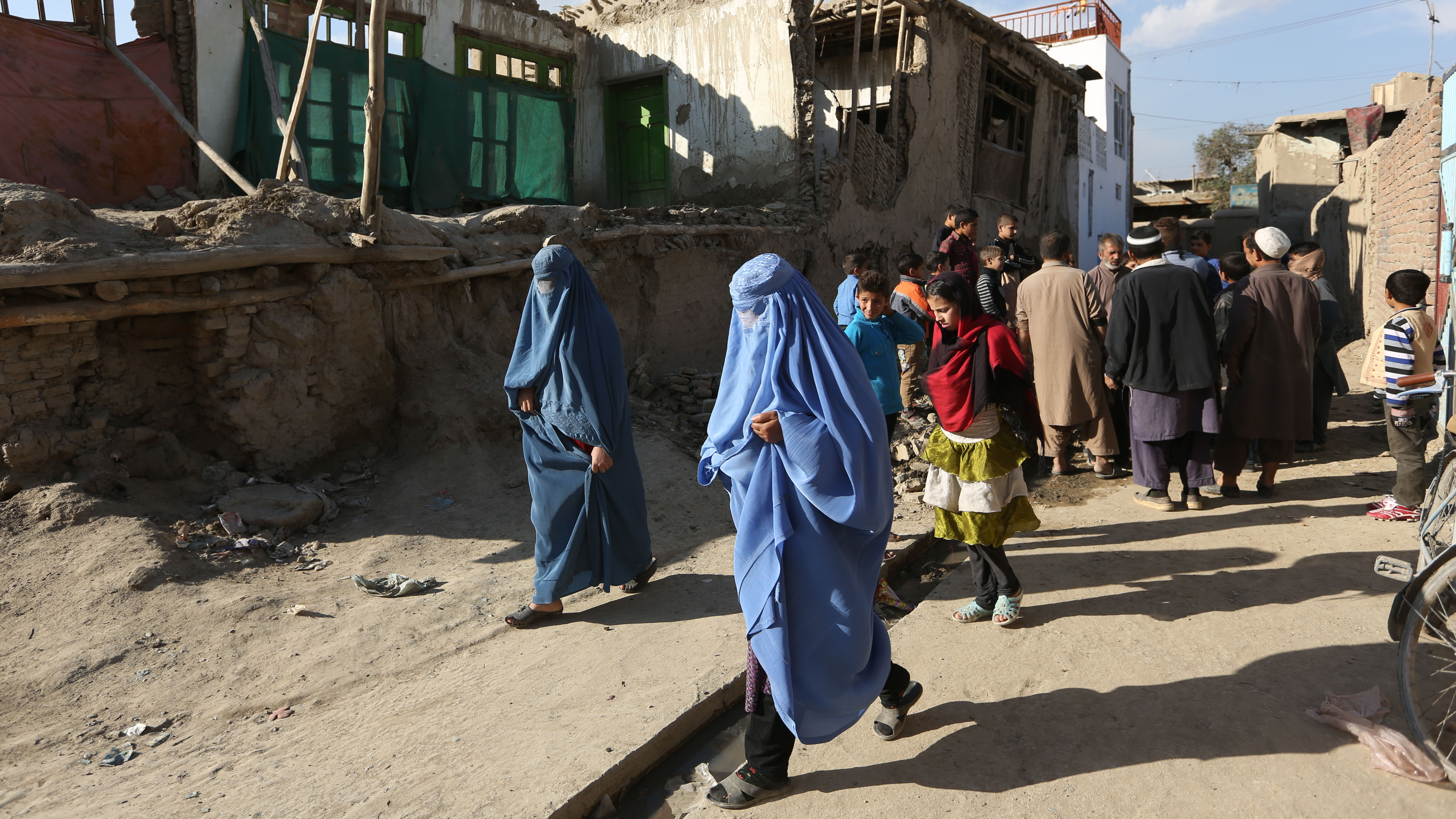 Kraftigt jordskalv i norra pakistan