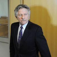 Regissören Roman Polanski i rätten.