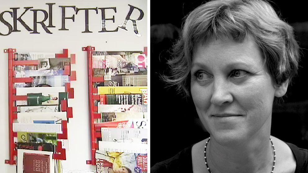 Siri Reuterstrand är ordförande för föreningen Sveriges Tidskrifter.