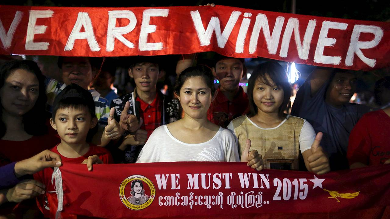 Burmas junta redo for samtal
