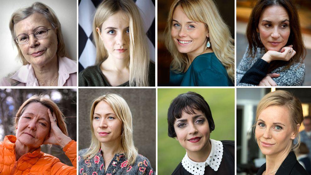 Skådespelarna om jämställda löner.
