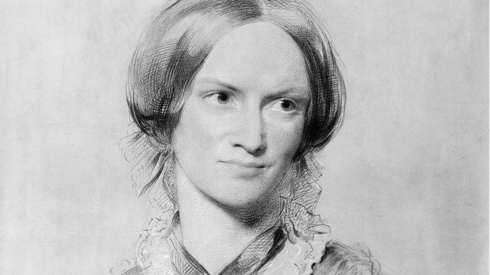 Porträtt av Charlotte Brontë.