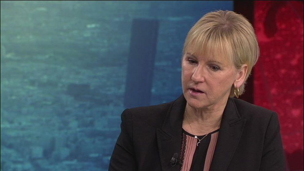 Här är uttalandet från utrikesminister Margot Wallström (S) som Israel reagerar mot.