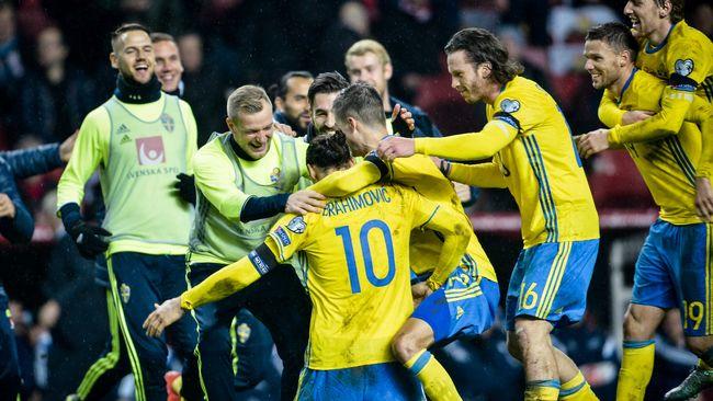Zlatan sköt Sverige till EM  57da3721bffe2