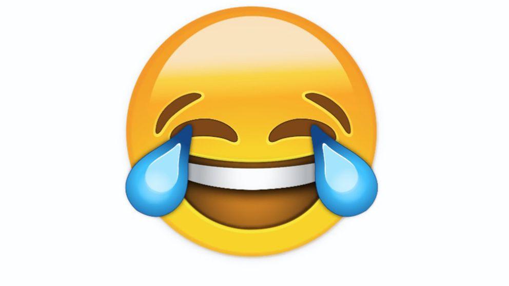 Emojin med glädjetårar årets ord i Oxfords ordlista.