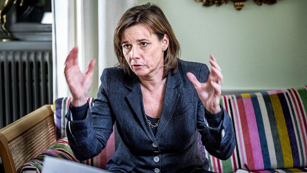 Biståndsminister Isabella Lövin.