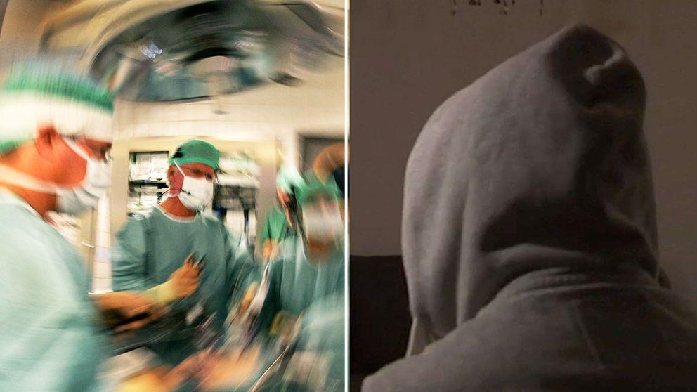 Jesper var tveksam men säger att läkaren gav intryck av att ingreppet var säkert och baserat på en beprövad metod. Läkarna på bilden har inget med händelserna i artikeln att göra.