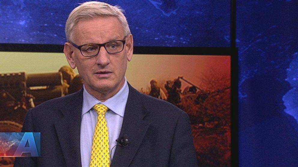 Förre utrikesministern Carl Bildt (M)