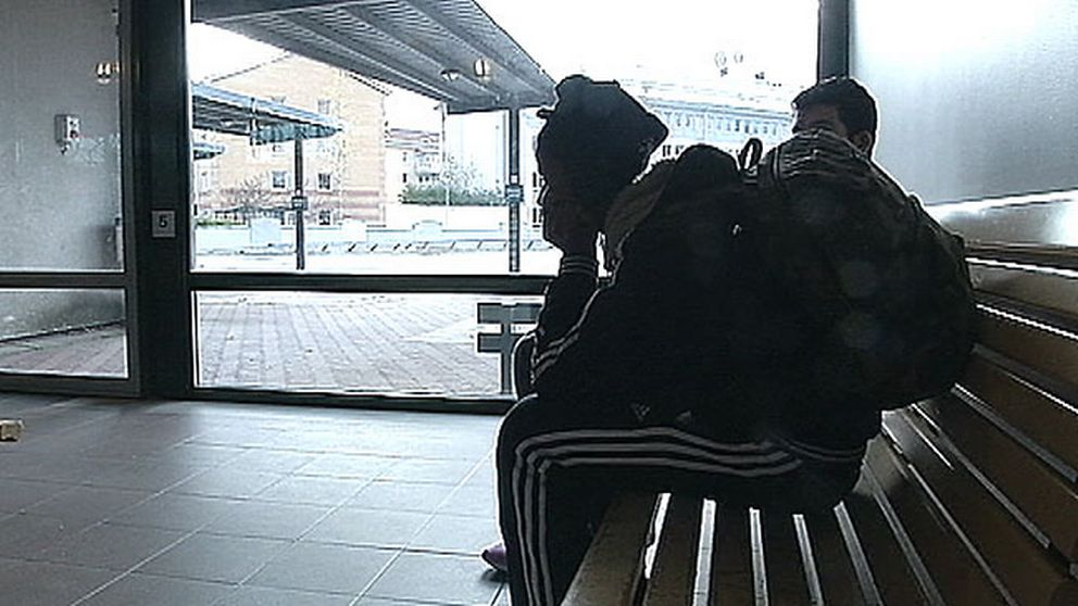 Ensamkommande flyktingbarn