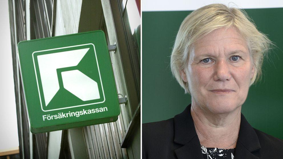 Försäkringskassans generaldirektör Ann-Marie Begler.