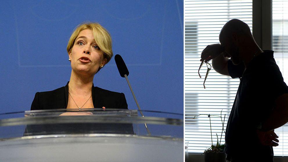 – Det här är en av de absolut största satsningarna som regeringen gör för att ta krafttag mot den ökande ohälsan, säger socialförsäkringsminister Annika Strandhäll (S).