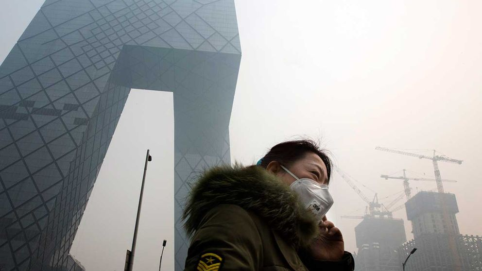 Smog i Peking