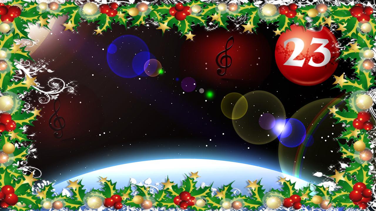 Julen vill jag fira i rymden