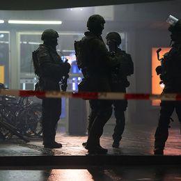 Nyårsfirandet i München överskuggades av ett allvarligt terrorhot.
