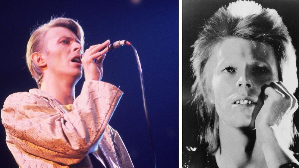 Och så här såg han ut 1973 (th) och 1978.