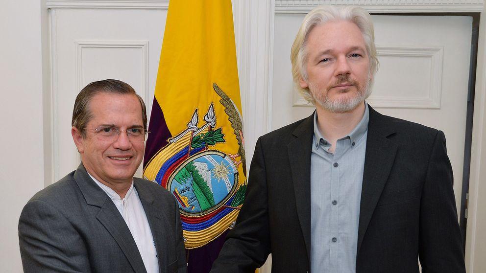 Wikileaks ecuador tystar assange