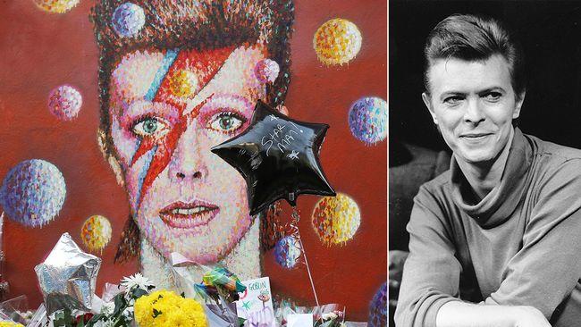 David Bowies album, i synnerhet senaste Blackstar, toppar listorna världen över.