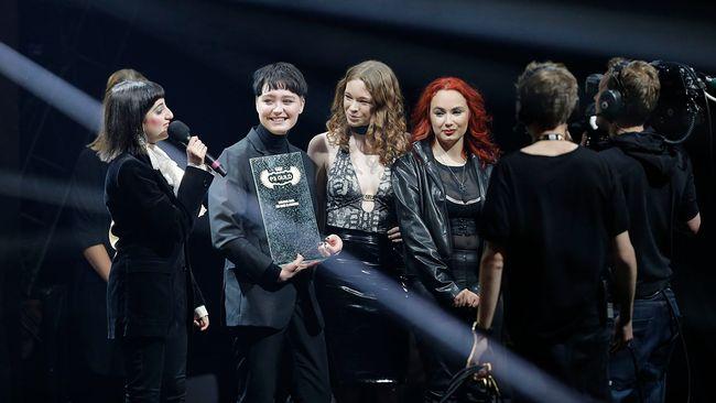 Dolores Haze tilldelades pris för Årets rock/metal.