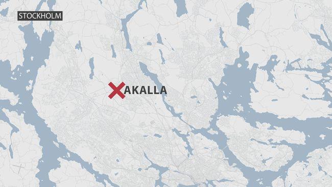 Karta över Akalla.