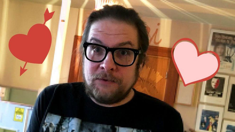 Nu har glesbygdstindraren Markus Forsberg hittat kärleken.